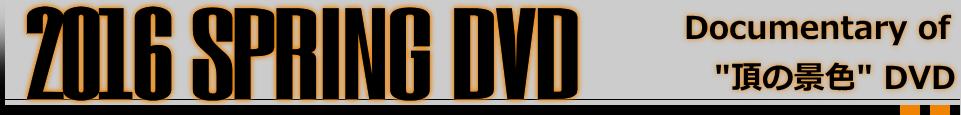 Documentary of 頂の景色 DVD